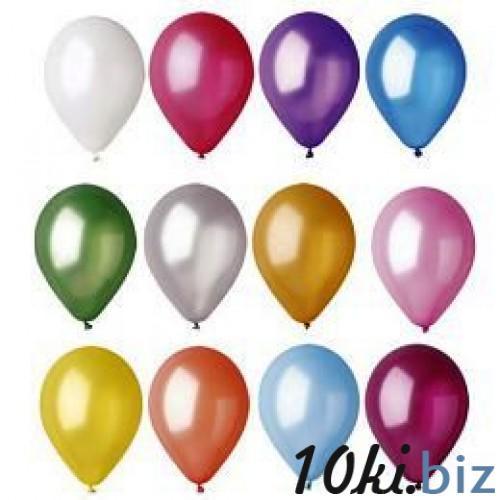 """Воздушный шар металлик """"Лампочка"""" 10""""/25см. (перламутр, ассорти 100 шт.) №1 купить в Кировограде - Воздушные шары и композиции из них с ценами и фото"""
