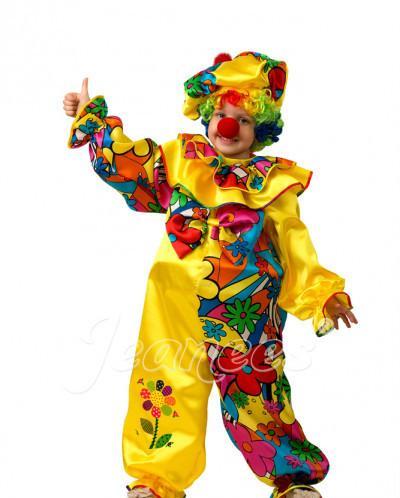 Карнавальный костюм Клоун Сказочный детский