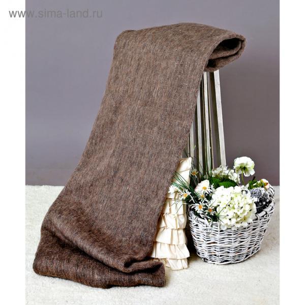 Одеяло полушерстяное, 400 г/м2, 140х205 гладкокрашенное серый, 70% шерсть, 30% лавсан