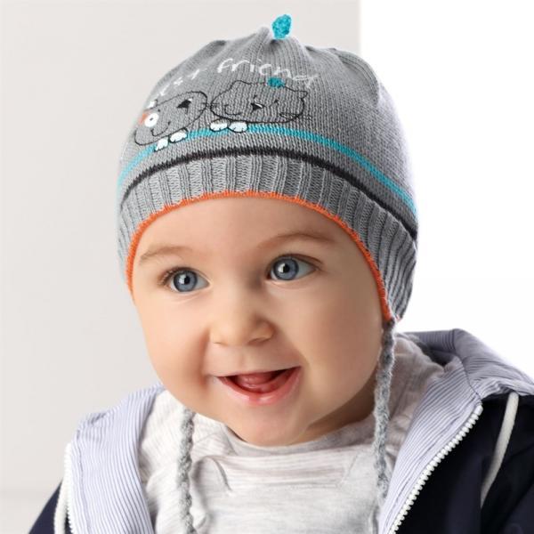 Детские шапки для мальчиков 36AJS012 Польша