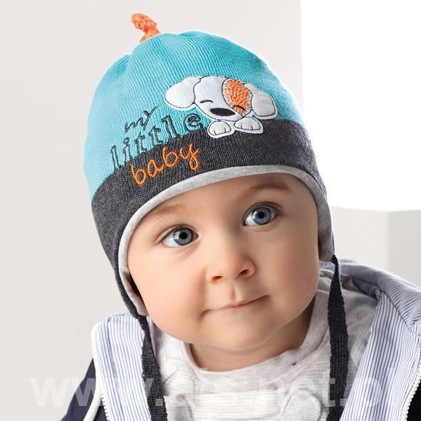 Детские шапки для мальчиков 36AJS014 Польша