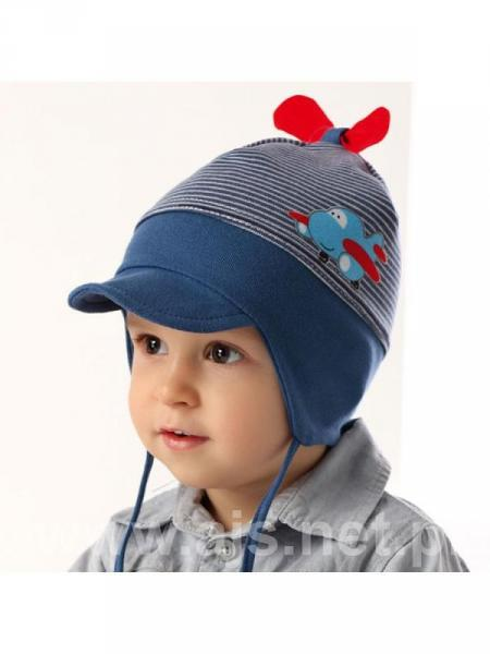 Детские шапки для мальчиков 36AJS015 Польша