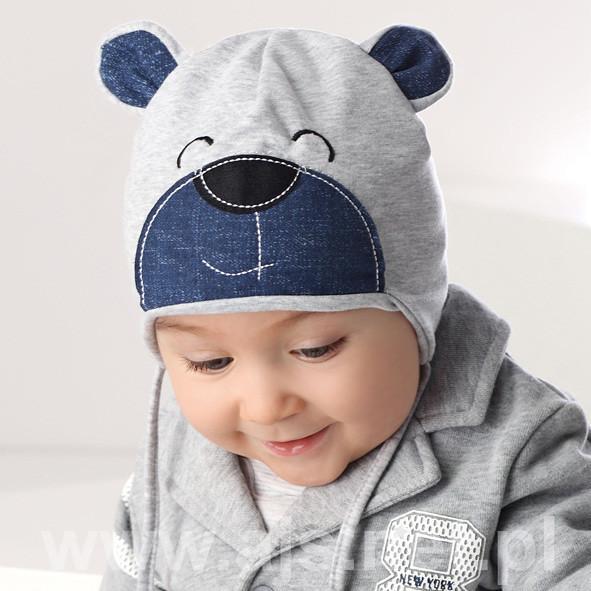 Детские шапки для мальчиков 36AJS017 Польша Наличие цвета уточняйте