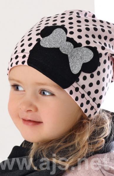 Детские шапки для девочек 36AJS048 Польша Наличие цвета уточняйте