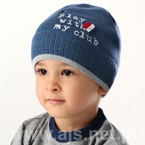 Детские шапки для мальчиков 36AJS068 Польша Наличие цвета уточняйте