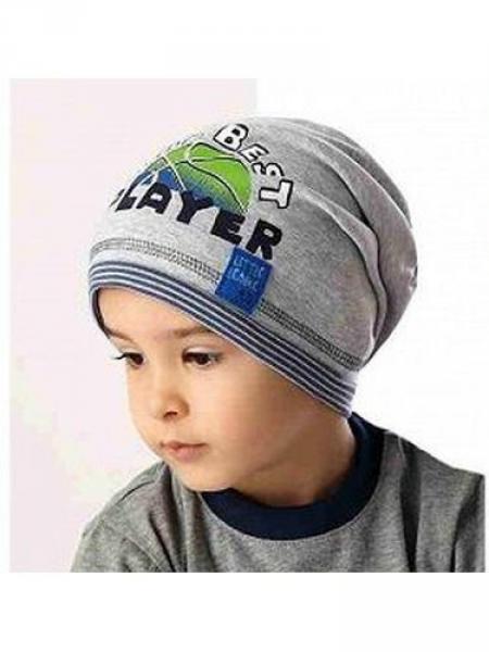 Детские шапки для мальчиков 36AJS071 Польша