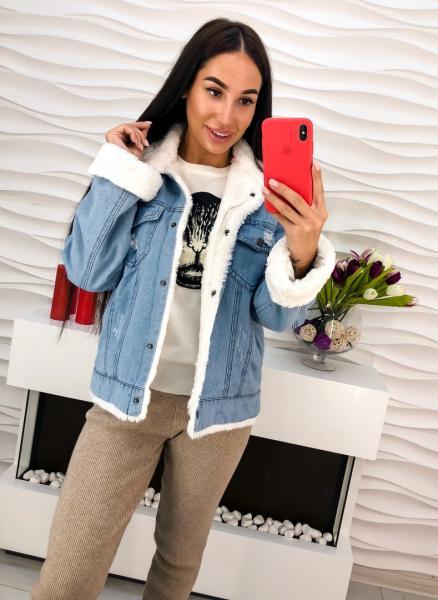 Куртка джинсовая люкс