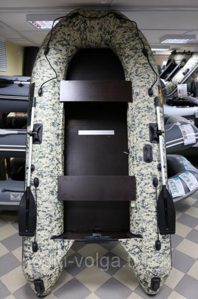 Лодка Муссон 3200 СК Камуфляж пиксель