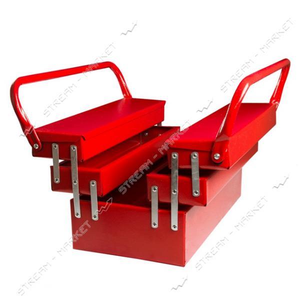 Ящик металлический MASTERTOOL 79-5505 5 отделений 550мм