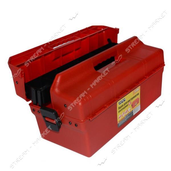 Ящик для инструмента MASTERTOOL 79-3068 раскладной 16'