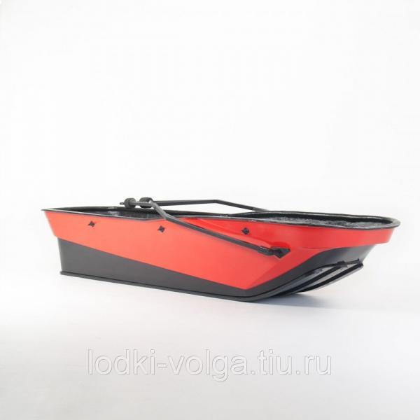 САНИ-ВОЛОКУШИ KTZ ACTIVE БЕЗ КРЫШКИ (цвет: красный)