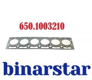 Фото 10. Двигатель 650.1003210 Прокладка головки блока цилиндров ЯМЗ-650.10 (5010477117, 10600.20, 61-36830-00, AD5770)
