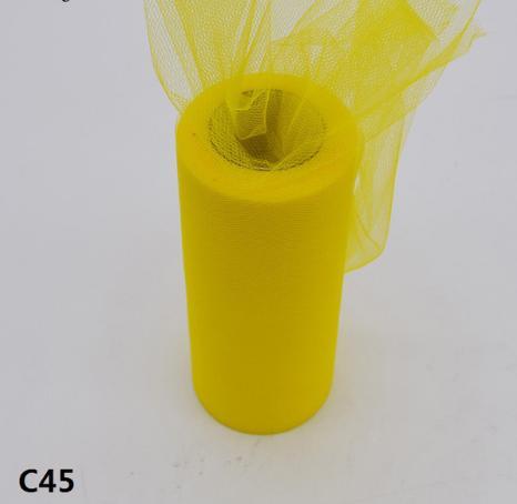 Фатин  ширина  15 см.   Желтого  цвета .