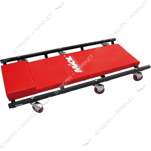 Miol 80-685 Тележка-лежак для механика подкатная металл., 6 колес
