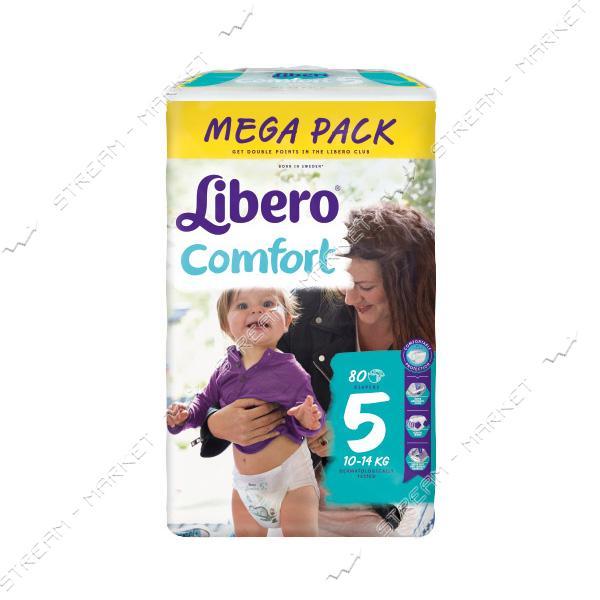 Libero Подгузники детские Comfort 5 (10-16кг) 80шт