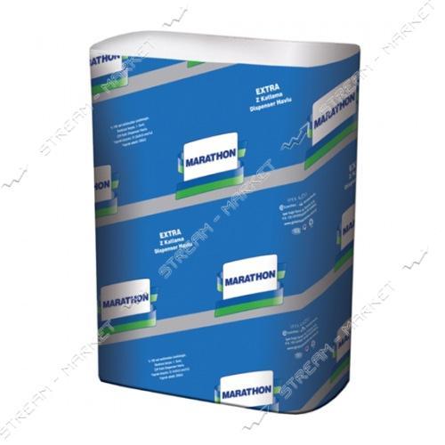 SELPAK Pro Полотенца бумажные целюлознные двухслойные Extra Z-сложение 200шт
