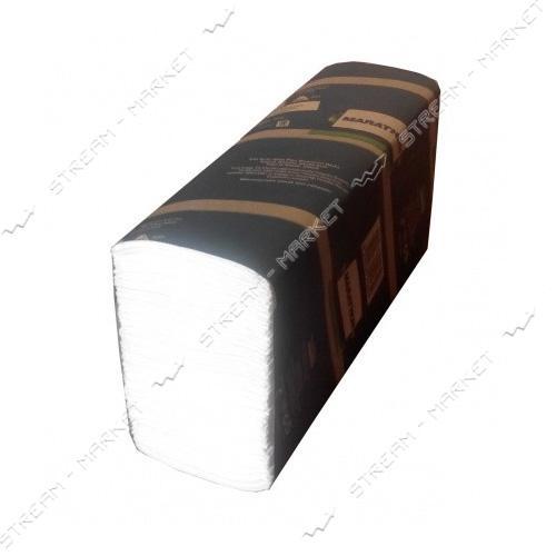SELPAK Полотенца бумажные целюлознные двухслойные Premium Z-сложение 200шт