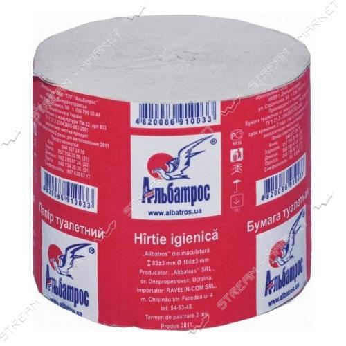 Альбатрос 433 Туалетная бумага 1шт