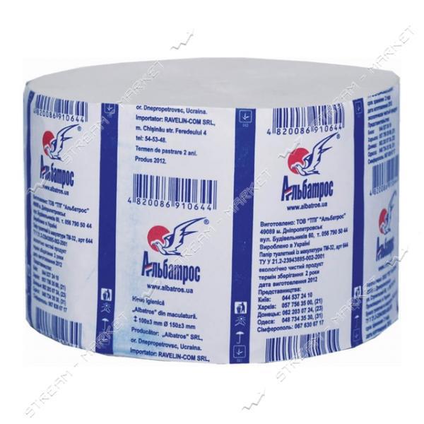 Альбатрос 440 Туалетная бумага Джамбо 1шт