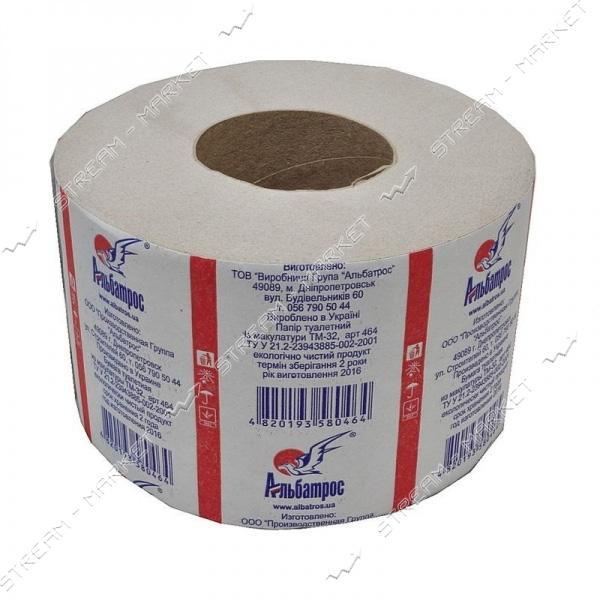 Альбатрос 464 Туалетная бумага на гильзе 1шт