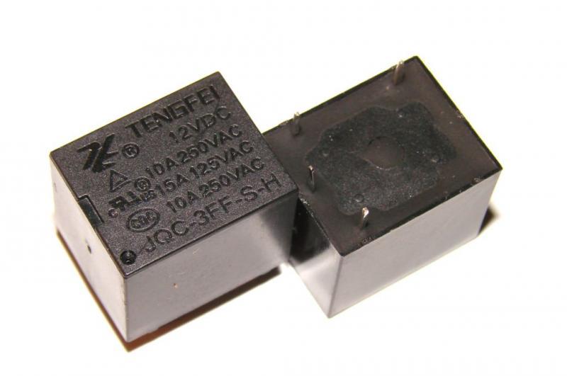 Реле JQS-3FF-12VDC-10А