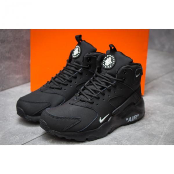 Зимние ботинки в стиле Nike Air, черные [ 41 42 43 44 45 ]