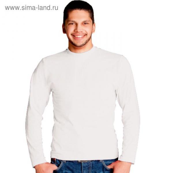 Футболка мужская StanCasual, размер 44, цвет белый 180 г/м