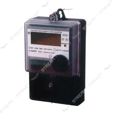 Электросчетчик 1 фазный многотарифный СО-ЭА15-О 60 А