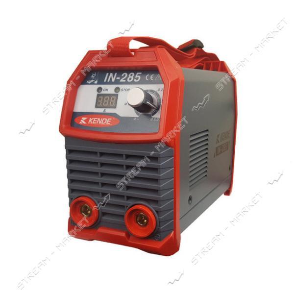 Инверторный сварочный аппарат Kende IN-2685 Рег.тока 20-265 А. Электр. 1. 6 - 5. 0 мм, 4, 5 кг.