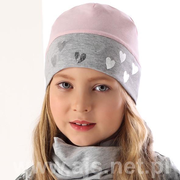 Шапки детские для девочек 36AJS081 Польша