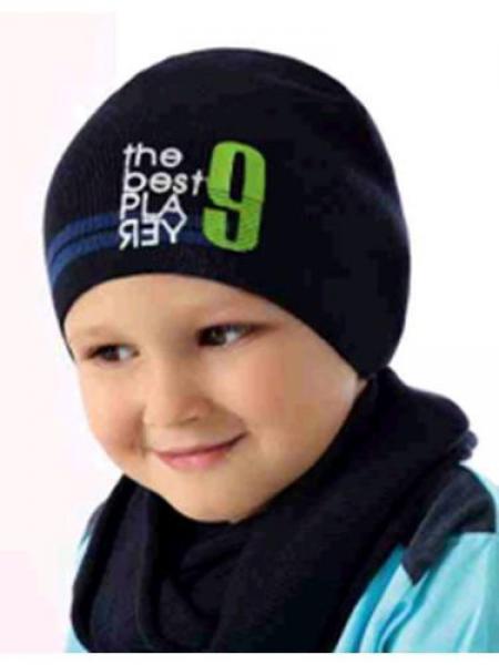 Шапки детские для мальчиков 36AJS143 Польша Наличие цвета уточняйте