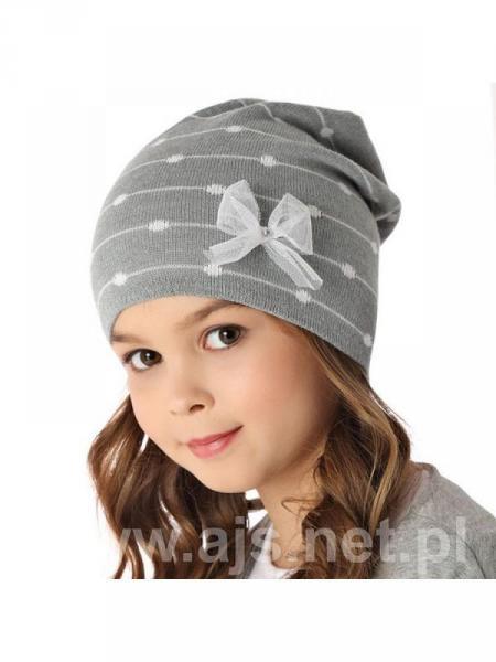 Шапки детские для девочек 36AJS087 Польша