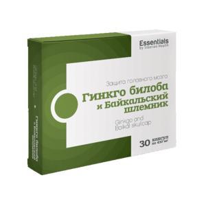 Гинкго билоба и байкальский шлемник - ESSENTIALS by Siberian Health