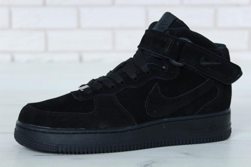 Nike Air Force High Black (40-46)