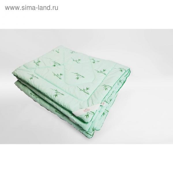 Одеяло Миродель всесезонное, бамбуковое волокно, 200*220 ± 5 см, микрофибра, 200 г/м2