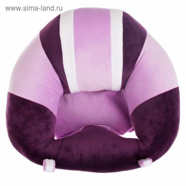 Подушка-позиционер для новорождённых, цвет фиолетовый