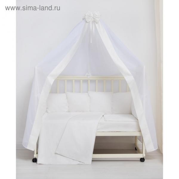 """Комплект в кроватку 7 пр. """"VIP"""", сатин, хл100 115 гм"""