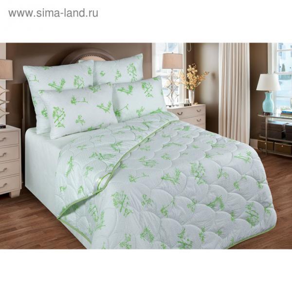 Одеяло обл. 172*205, ОБ/017эк, бамбуковое волокно, ткань глосс-сатин,п/э