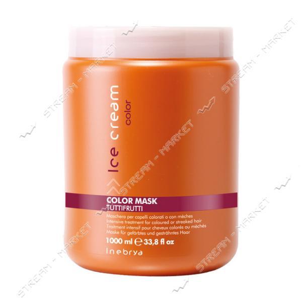 Маска для окрашенных и мелированных волос Inebrya Color Tutti Frutti 1000мл