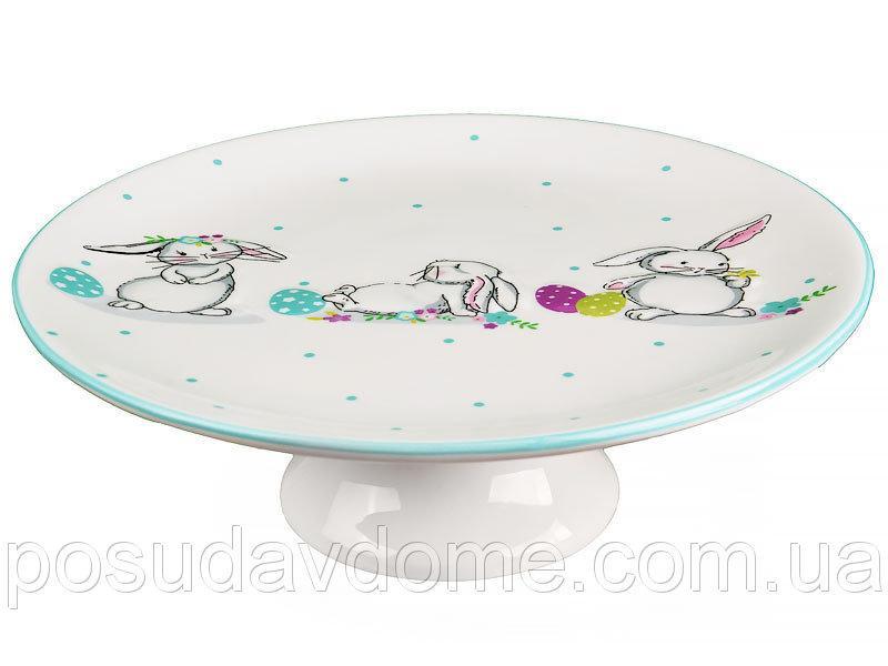 "Подставка под торт ""Кролики"" диаметр 20 см, Lefard, 940-154"