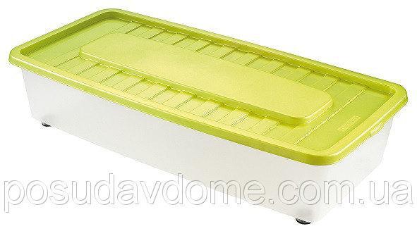 Боксмания Ящик пластиковый под кровать 35л, 78*37*18см, HEIDRUN, 1561