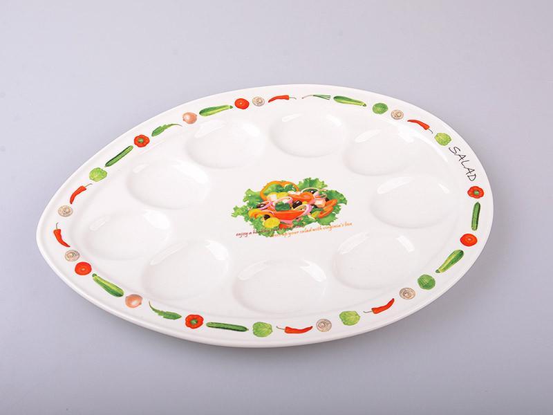 Блюдо для яиц Lefard Ассорти 31х23х2 см, 388-282