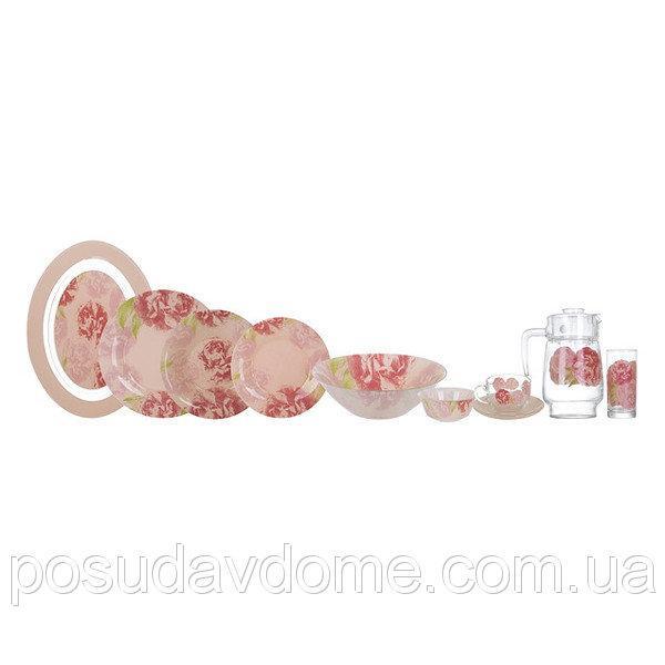 Столовый сервиз Luminarc Pastel Pink 46 пр. N6254