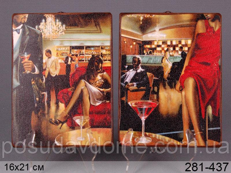 Комплект декоративных панно Brookpace из 2 шт. 16*21 см, 281-437