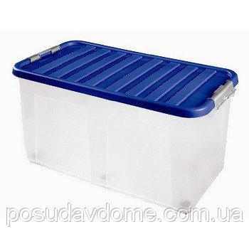 Клипбокс Ящик пластиковый 100л, 80*40*40см, HEIDRUN, 1617