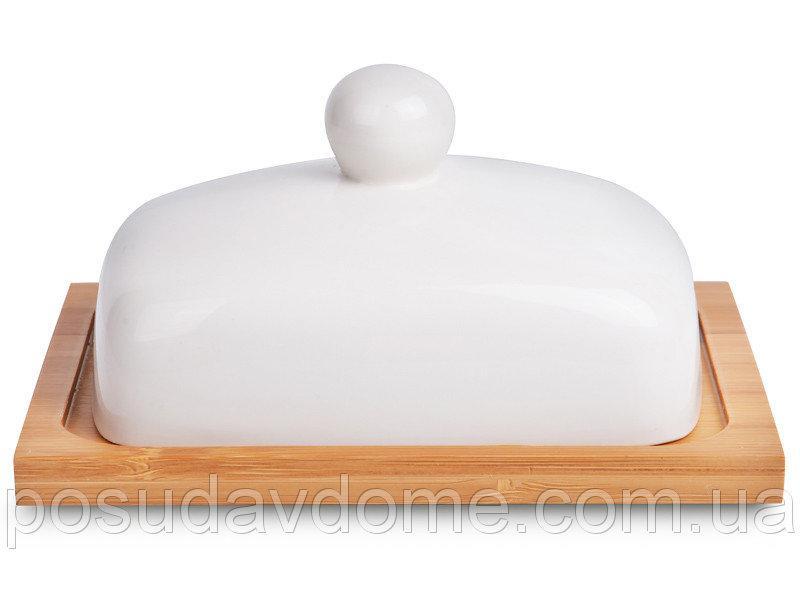 Масленка с крышкой Lefard 16х13х8 см, 359-354