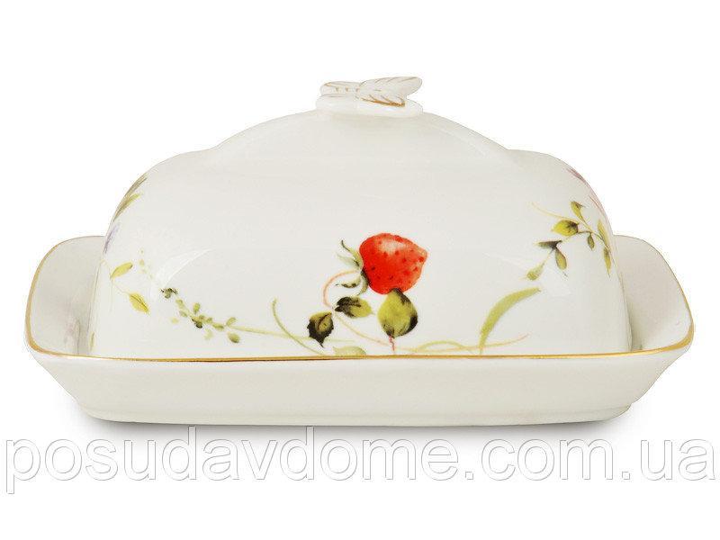 Масленка с крышкой Lefard Лесная ягода 17х12х7 см, 943-013
