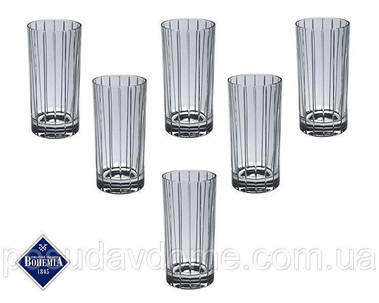 Набор бокалов для воды Bohemia Jihlava Карен 300 мл 6 штук 663-073