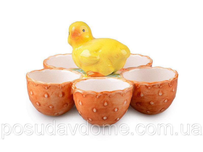 Тарелка для яиц, 15х15х9 см, Lefard, 58-908