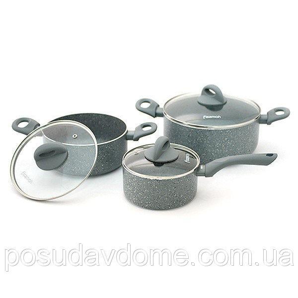 Набор посуды Fissman Vulkano 6 предметов, AL-4862.6